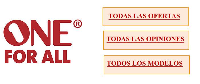 TODOS LAS REVIEWS DE MANDOS A DISTANCIA ONE FOR ALL